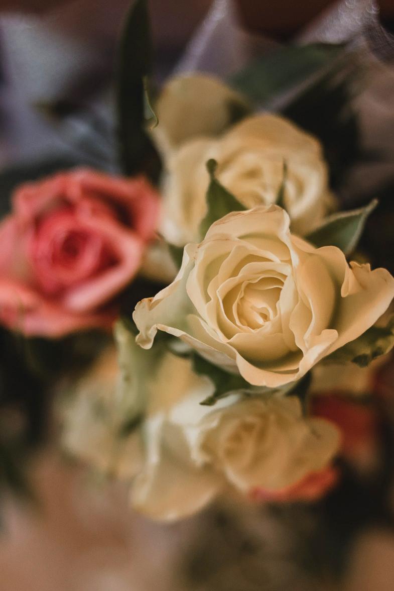 Cvetlični aranžma za poroko.