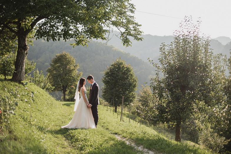 Poročno fotografiranje na Štajerskem - Poročna fotografija