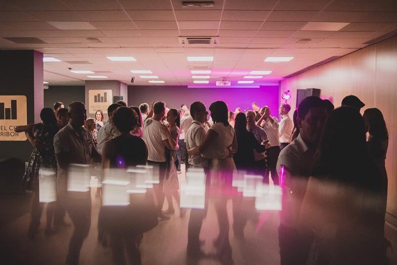 Fotografija poročne zabave v hotelu City Maribor.