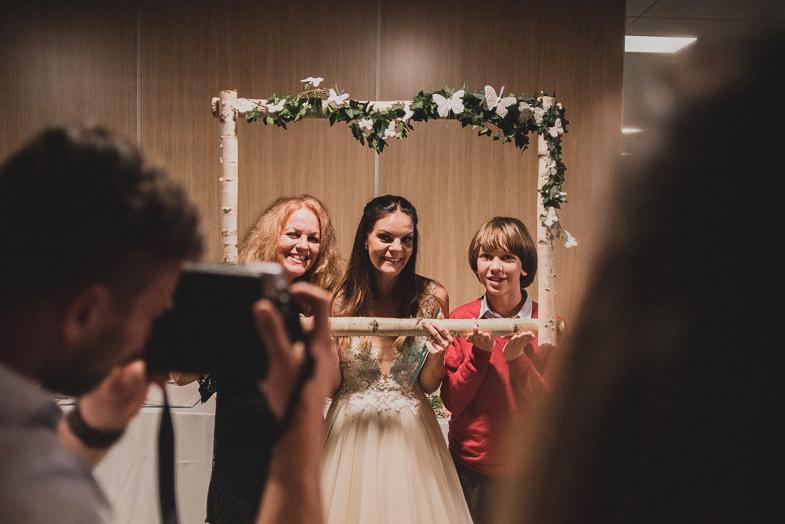 Primer profesionalnega fotografiranja poroke.