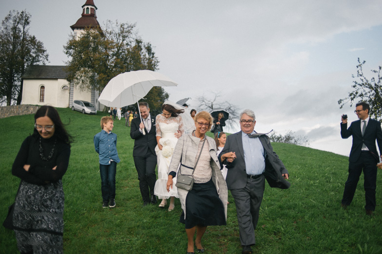 Ideja za fotografiranje poroke.