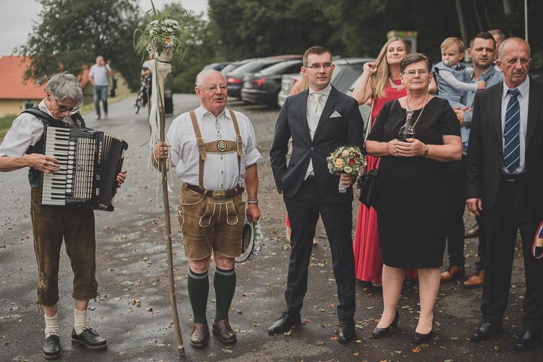 Wedding tradition in Austria.