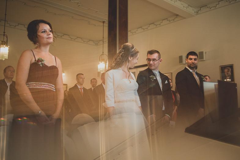 Picture of civil wedding.