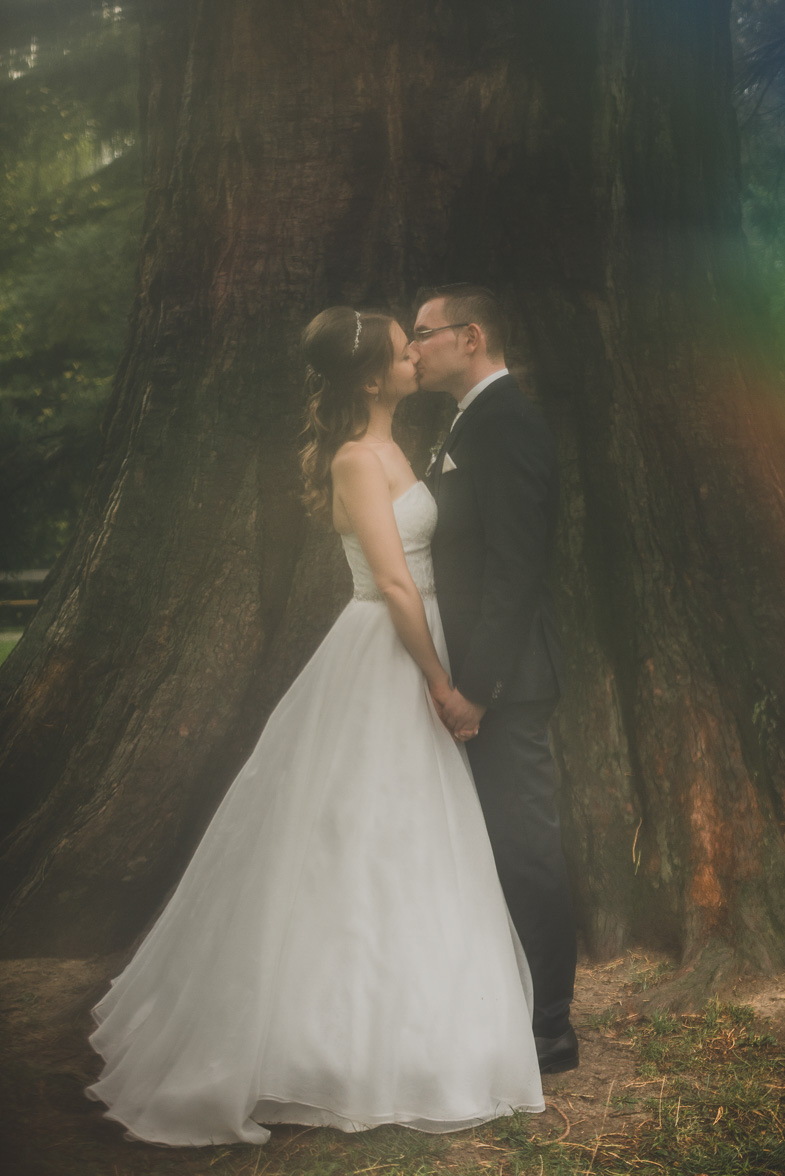 An example of wedding photography.