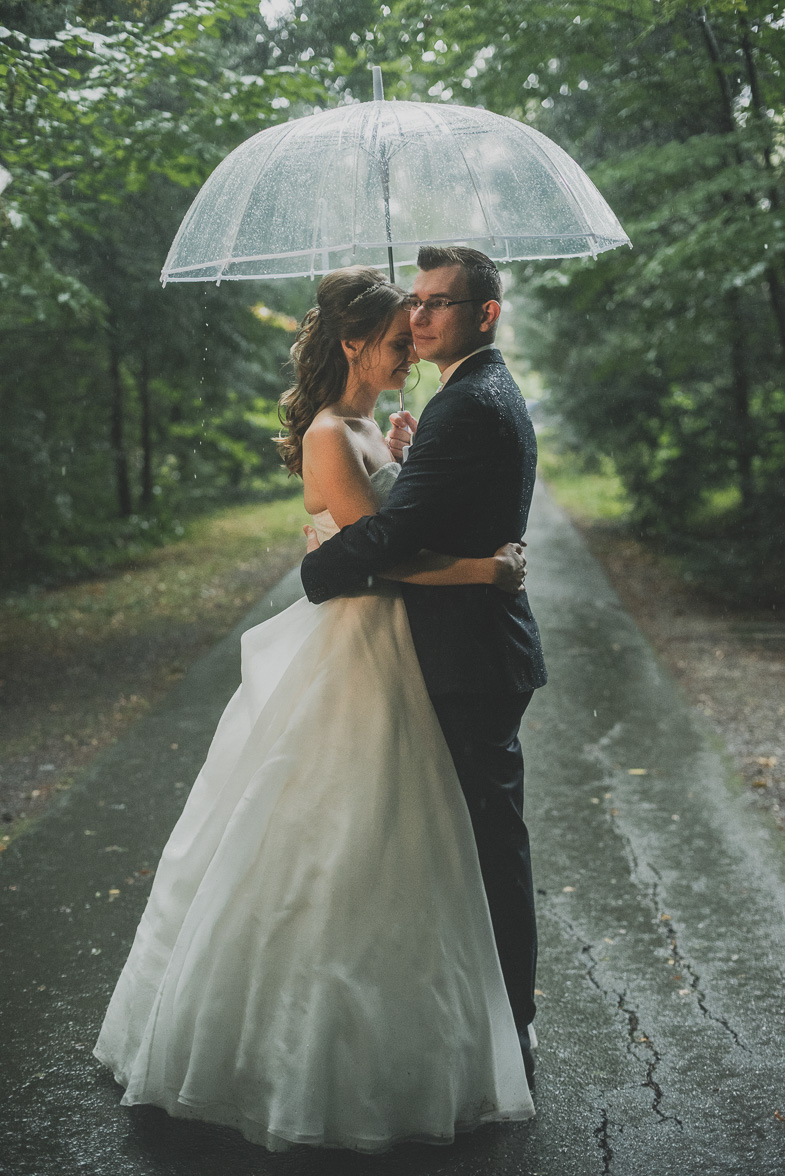 The couple who hired the photographer from Europe.