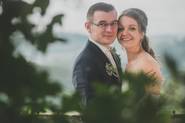 A wedding photo from a wedding abroad.