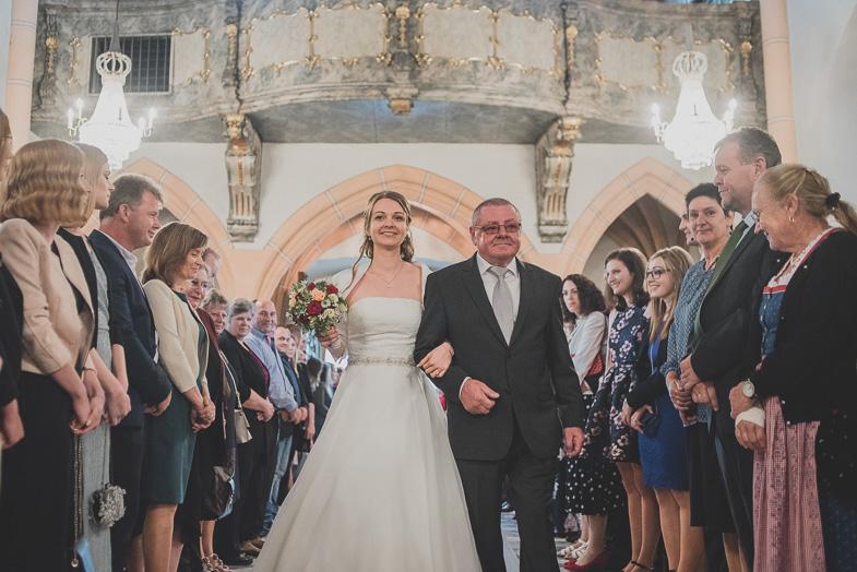 An example of a wedding parish photo, Straden.