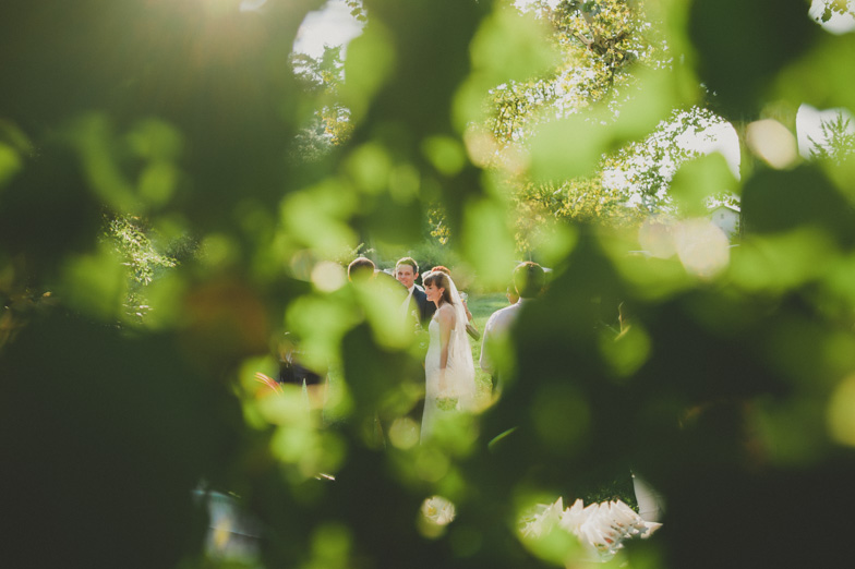 Example of wedding photography in nature.