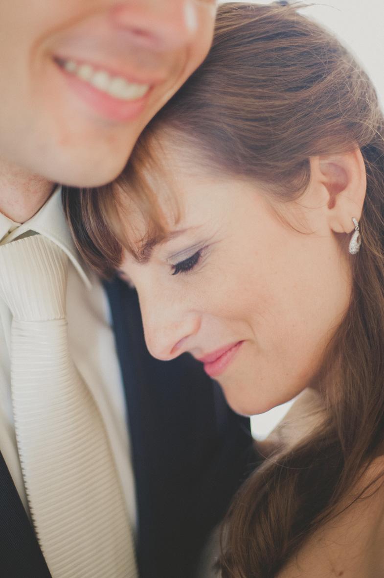 Ein schönes Hochzeitspaar foto.