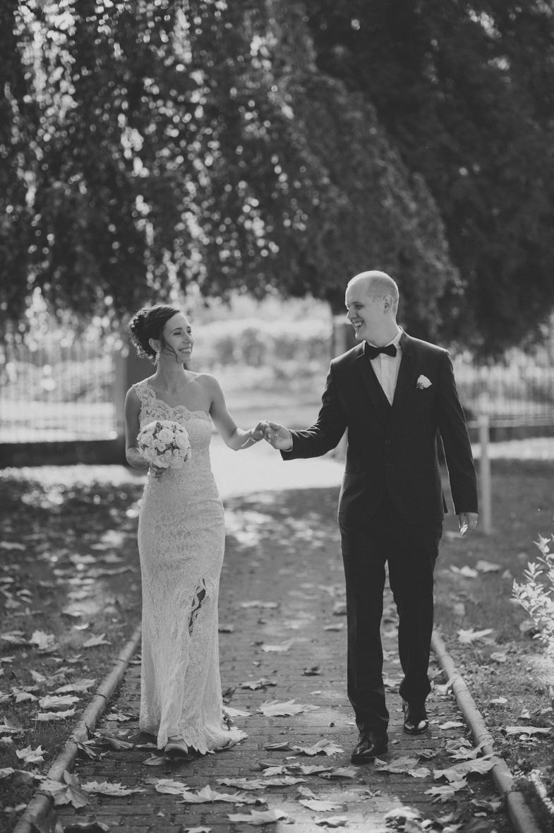 Fotografija poročnega para, ki je najel poročnega fotografa iz Slovenije.