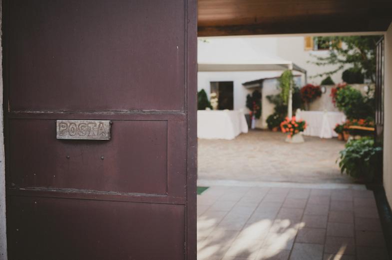 Photo of the groom's home at Basovizza.