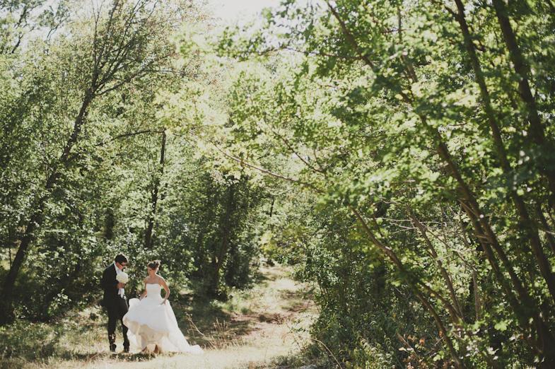 Photo example of a beautiful wedding couple.