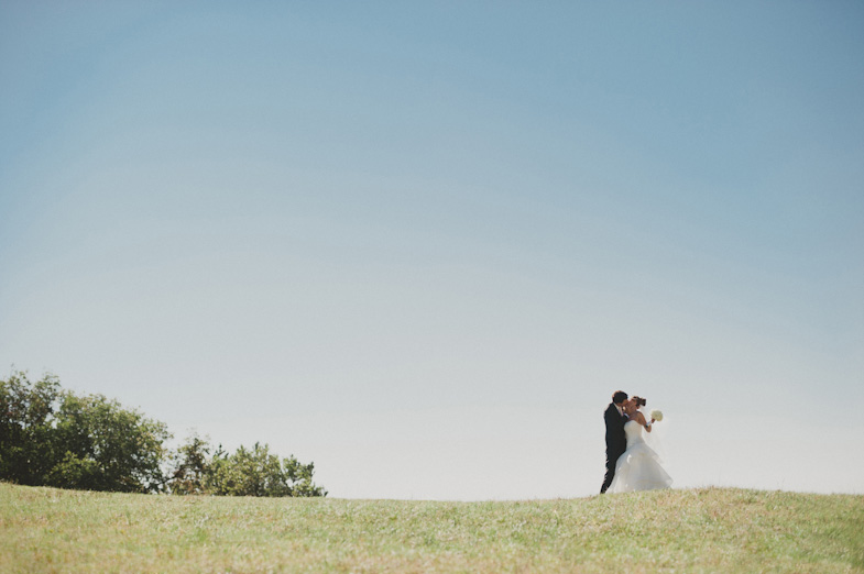 A couple who hired a wedding photographer for a wedding at the seaside.