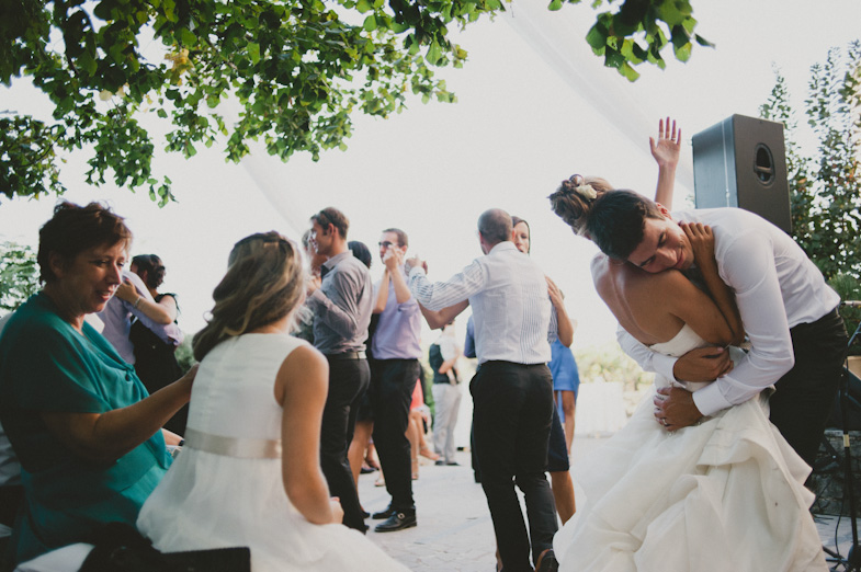 Photography from a bridal party.