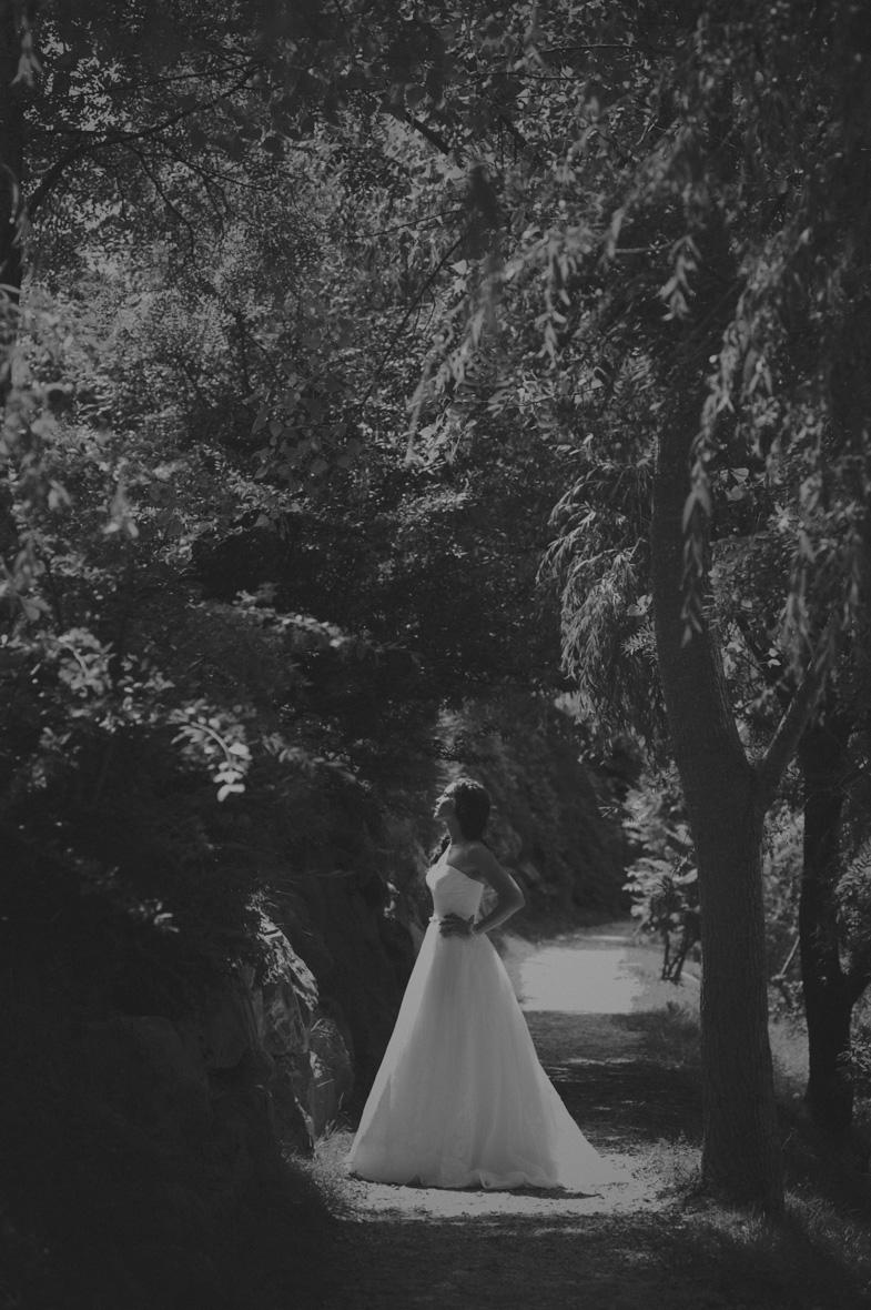 Poročni portret z nevesto.