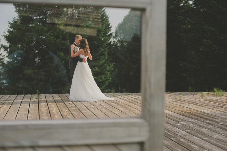 Ples neveste in ženina na poroki.