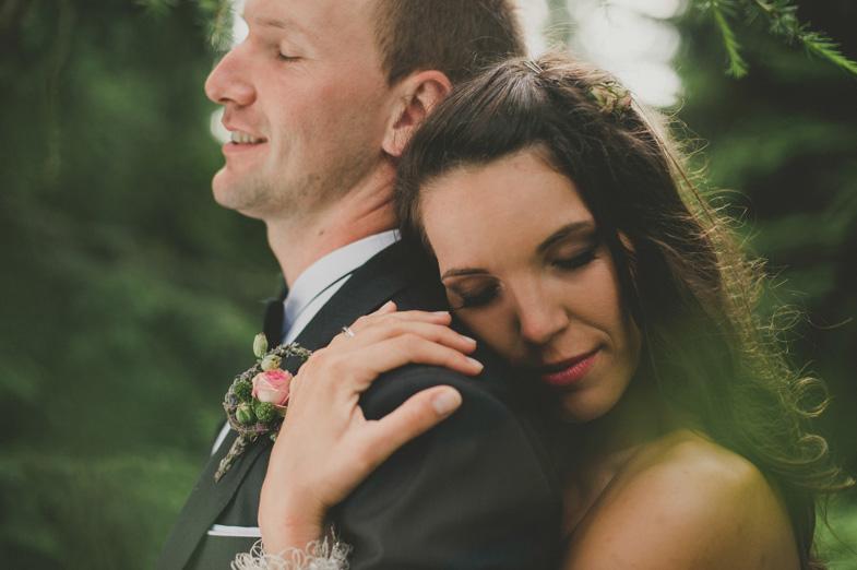 Un esempio di foto della coppia matrimoniale.