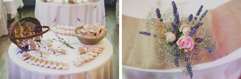 Fotografija poročnih daril za svate.