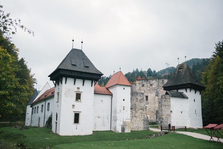 Fotografija poročne destinacije Žička Kartuzija.