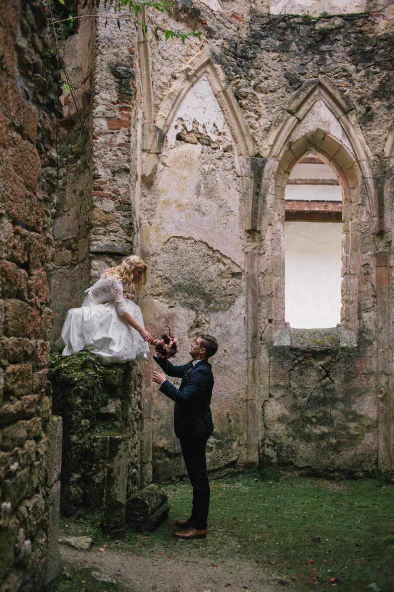 Fotografija s čarobne poroke.
