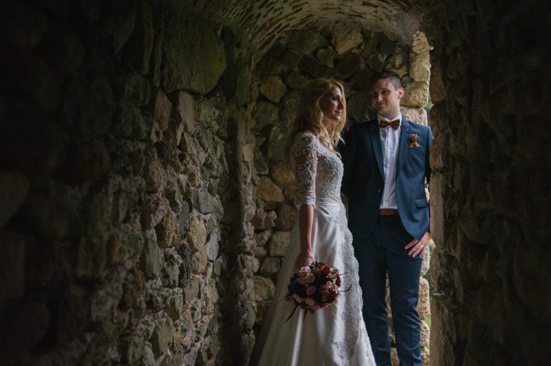 Fotografija unikatne poroke.