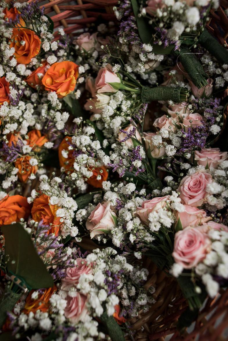 Slika poročnega cvetja.