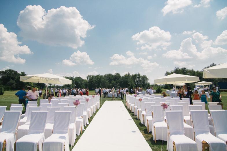 Fotografija lokacije civilne poroke na golf igrišču v Moravskih toplicah.