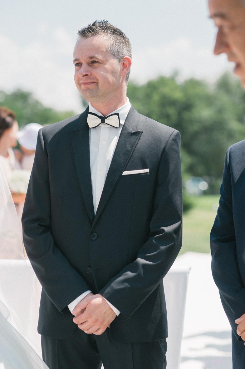 Wedding portrait of the groom.