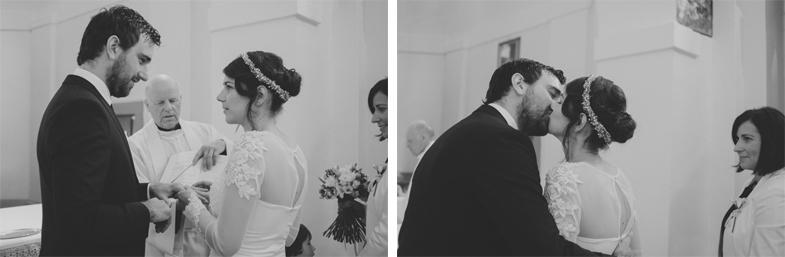 Photo of the wedding ceremony.