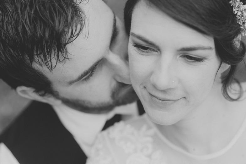 Portret poročnega para.