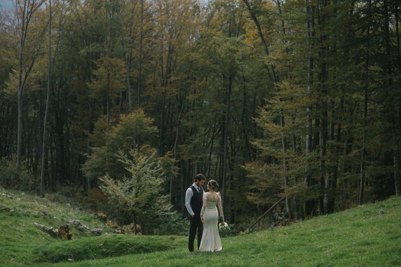 Jesenska poroka v Kamniku - Poročni fotograf Gorenjska