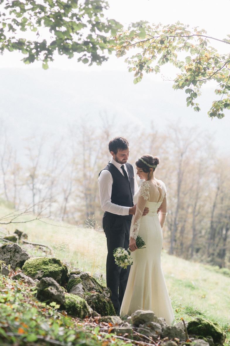 Photograph of fairytale wedding.