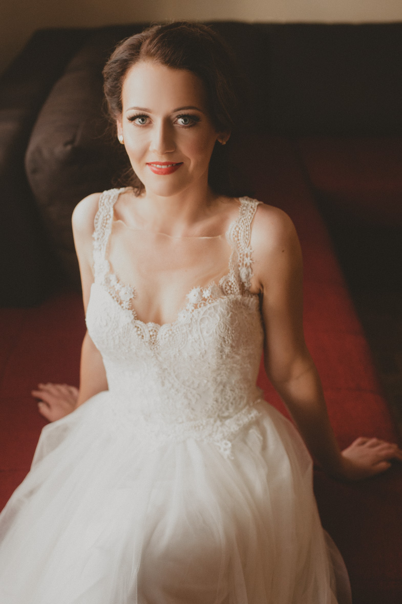 A bridal portrait of a bride.