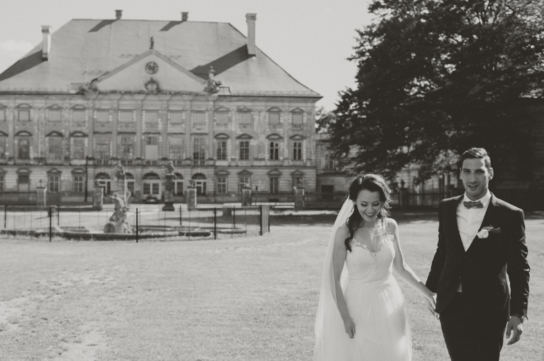 Photo of the wedding location at the Dornava Castle.