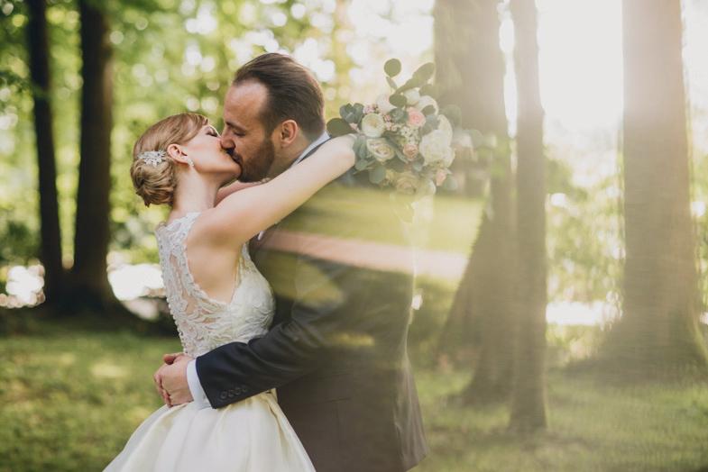 Primer unikatnega fotografiranja poroke.