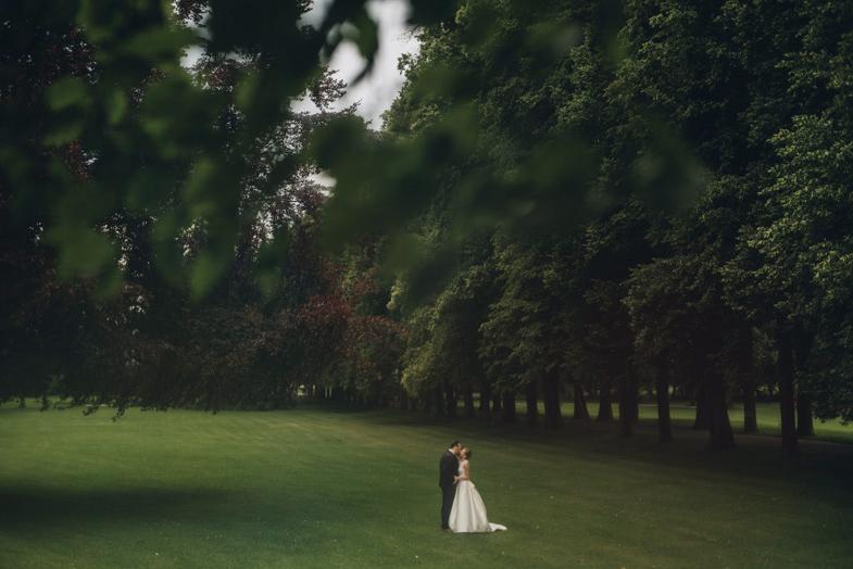 Ein Beispiel füar ein Hochzeitspaar photoshooting.