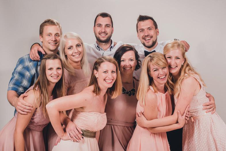 Primer photobootha na poroki.