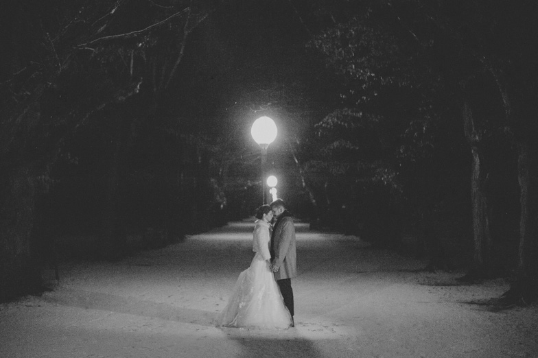 Zimska poroka - Grad Slovenska Bistrica - Poročna fotografija