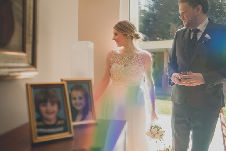 Photograph of the couple who decided to hire a wedding photographer.
