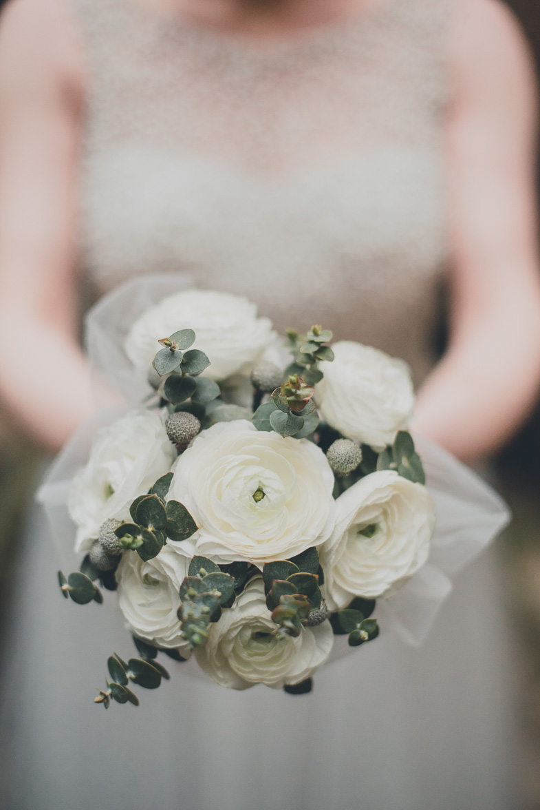 Photo of the wedding bouquet.