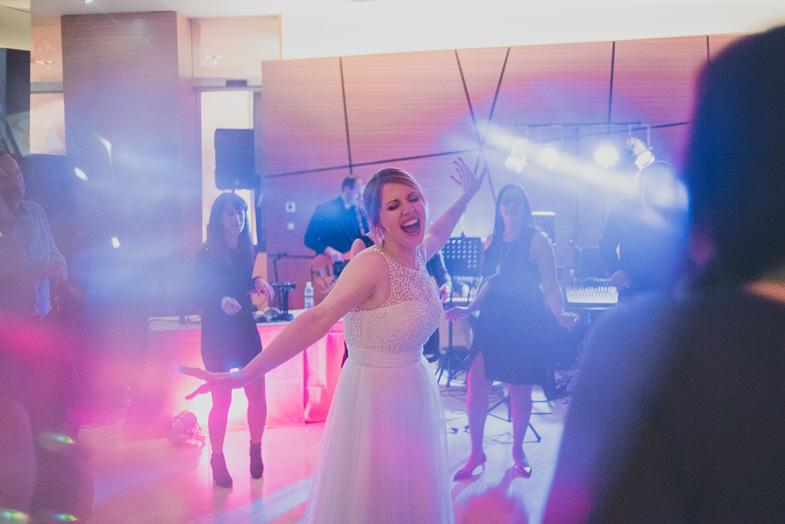 Wedding party in the Radisson Blu Plaza Hotel.