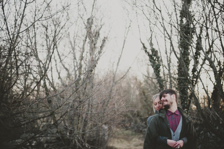 Photography of a loving couple.