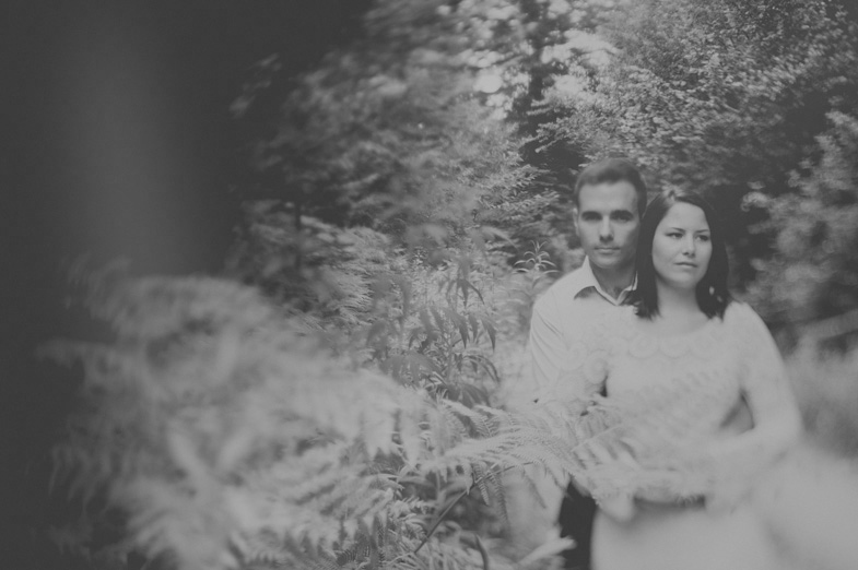 Fotografiranje para na prostem - Zaročni fotograf