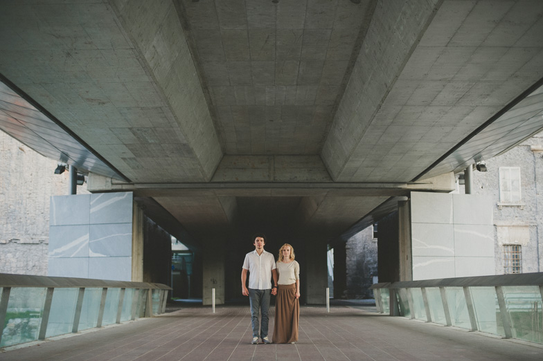 An example of creative photography of a couple.