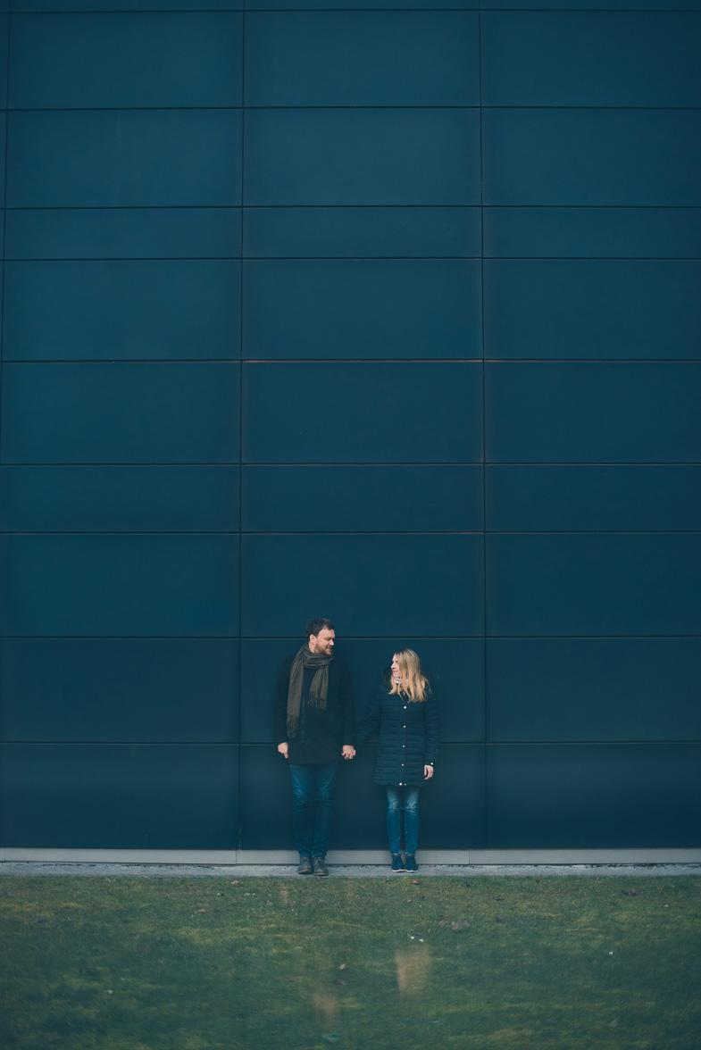 Par, ki si je izbral poročnega fotografa za poroko v Ljubljani.