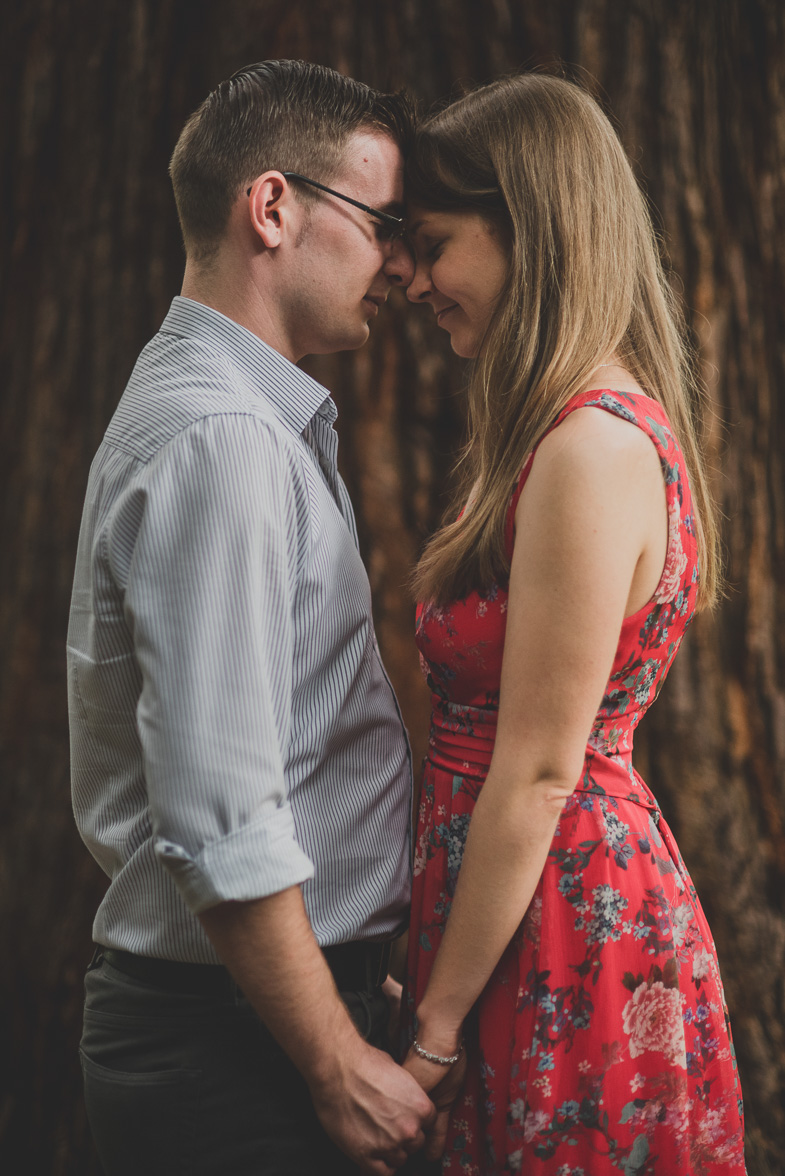 An example of professional photography of a couple.