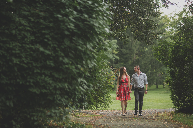 An example of engagement photography shooting.
