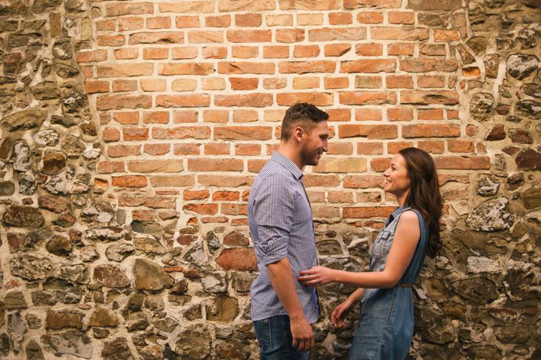 Ideja za fotografiranje dveh zaljubljencev.
