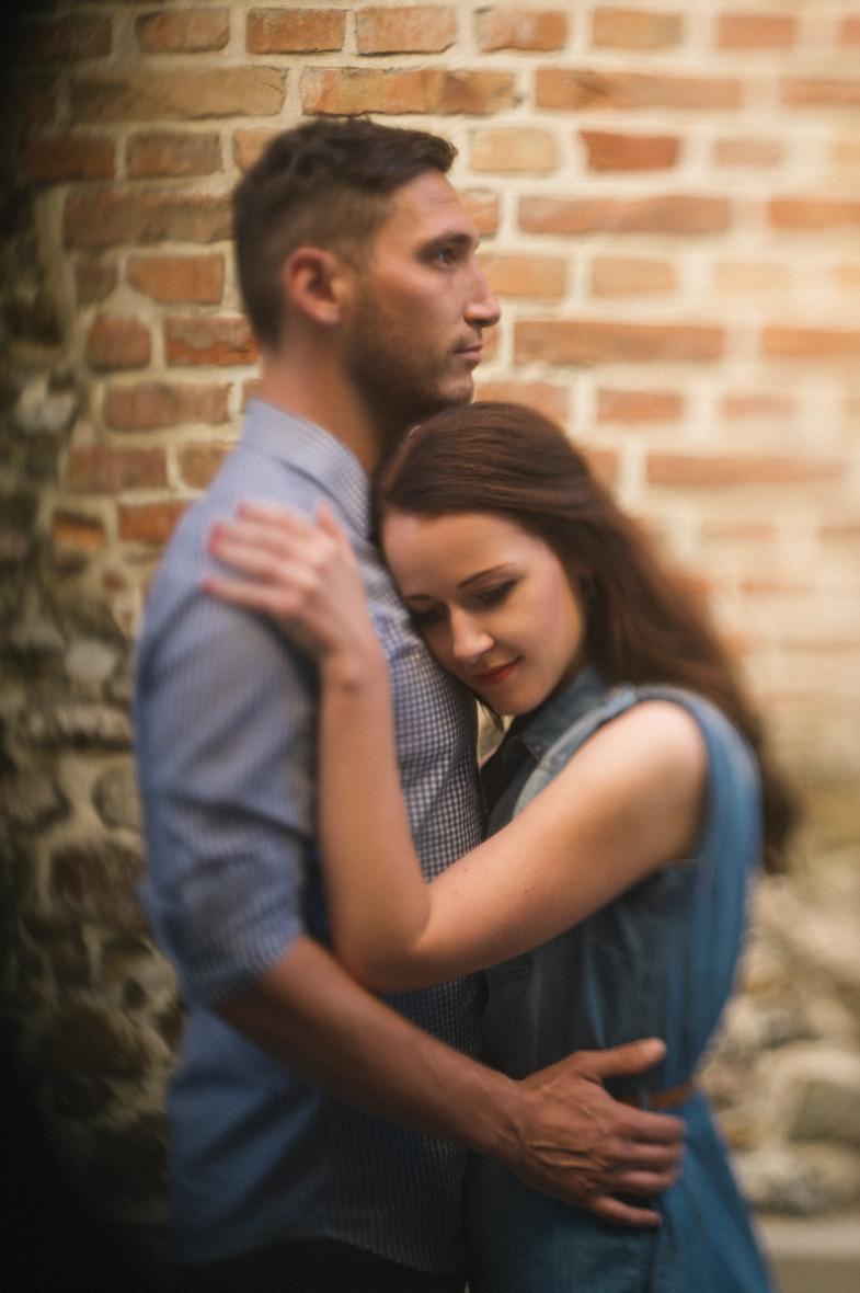 Couple who hired wedding photographer.
