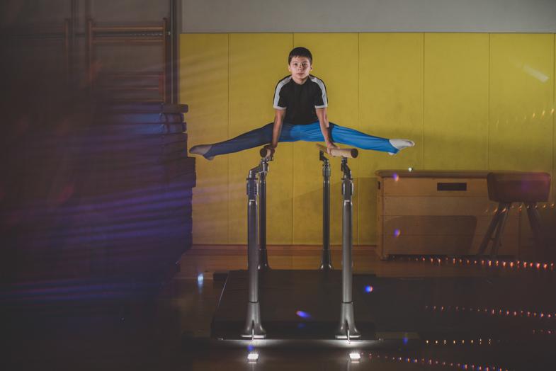 Gymnastics, Anže, 13 years